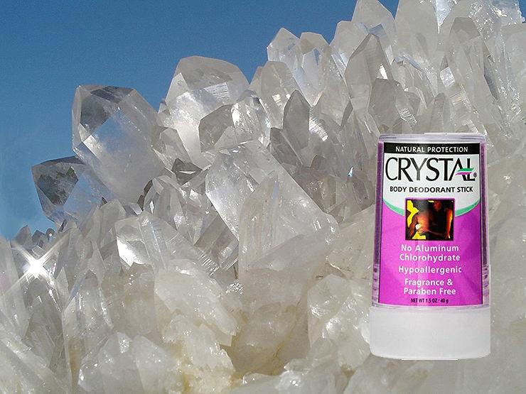 Дезодорант без алюминия и парабенов: отзывы о Crystal Body Deodorant